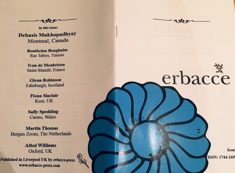 Interview at Erbacce Journal